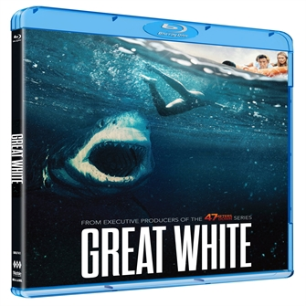 Image of Great white? - DVD (5705535066488)