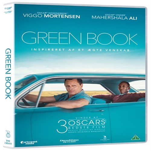Image of Green book DVD (5708758724487)
