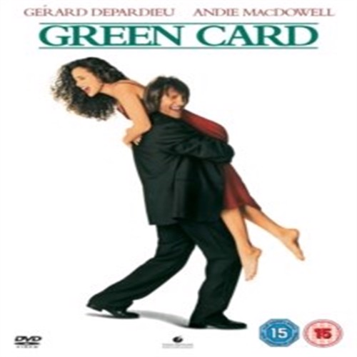 Image of Green Card - DVD (5017188884426)