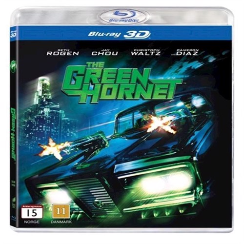 Image of Green Hornet, The 3D Blu-ray (5051162349860)