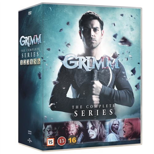 Image of Grimm Complete Series - DVD (5053083216573)