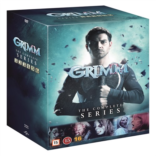 Image of Grimm: The Complete Series - DVD (5053083129798)