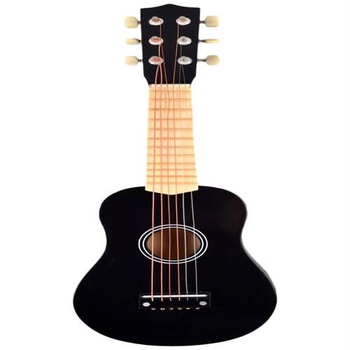Image of Guitar Sort Med 6 Strenge
