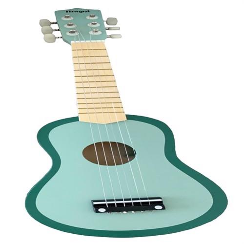 Image of Guitar til børn m. 6 strenge, lysegrøn