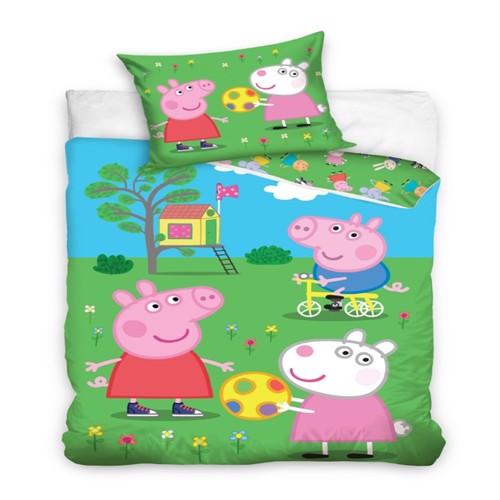 Image of Gurli gris, leg i haven sengetøj
