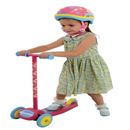 Image of Gurli Gris Tilt Og Turn Trehjulet Løbehjul