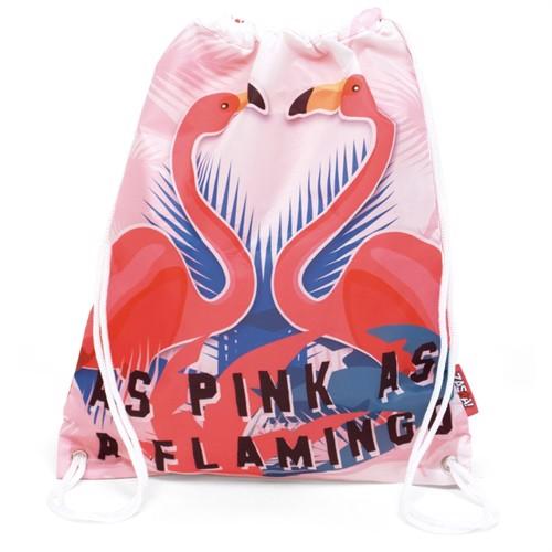 Image of Gymnastiktaske flamingo