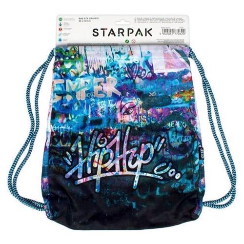 Image of Gymnastik taske, grafitti
