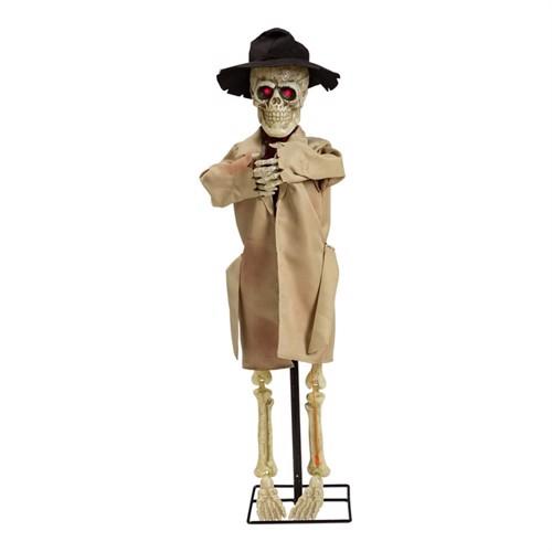 Image of Halloween Flashing Skeleton 100 cm (96068) (7393616480049)
