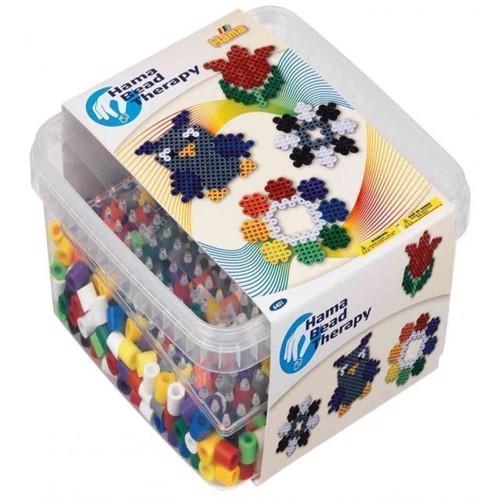 Hama Maxi perler, perler og plader i kasse
