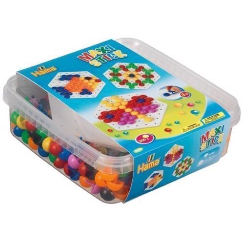 Image of Hama Maxi perler, perler pg plader i kasse