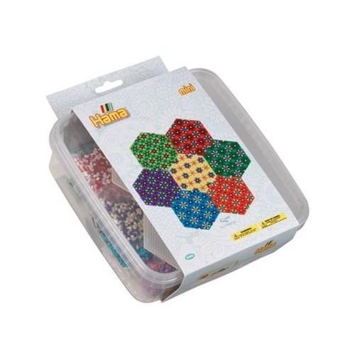 Image of Hama Mini Perler, 10.500 perler med 2 plader (0028178054007)