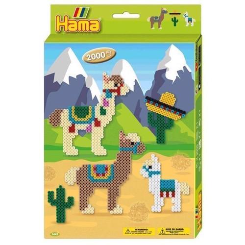 Image of Hama perlesæt, alpaca 2000 stk