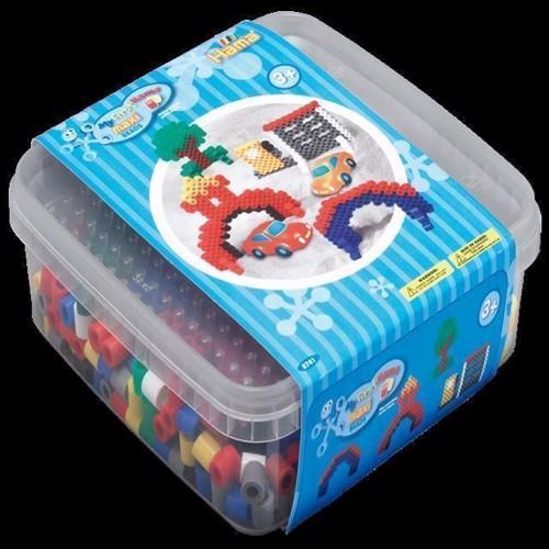 Image of Hama Maxi perler, 600 perler og 1 perleplade (0028178087418)