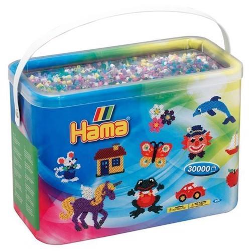 Image of Hama perler i spand, mix 69, 30000 stk