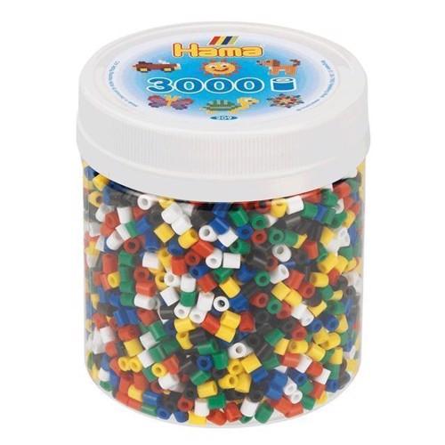 Image of Hama perler, mix 66, 3000 stk