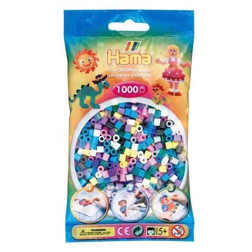 Image of Hama perler, mix 69, 1000 stk