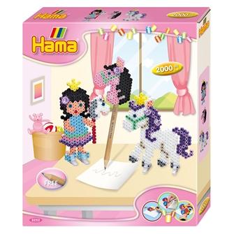 Billede af Hama Iron on Bead Set - Ponies, 2500 pcs.