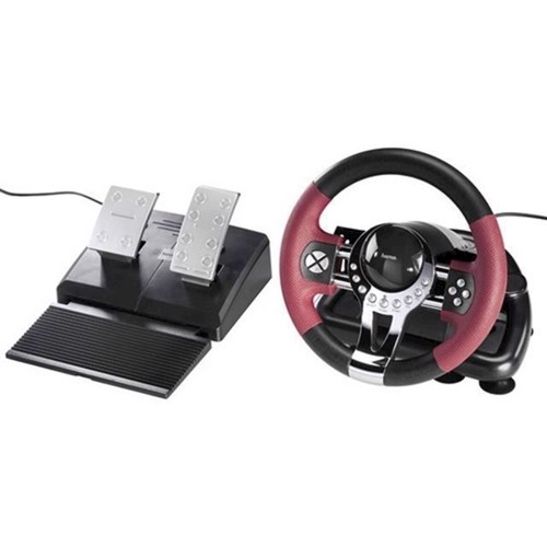 Image of   Hama Thunder V5 PS3 Racing Wheel - PS3