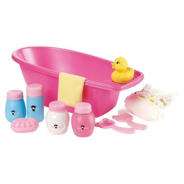 dd2810620 Dukke badekar med tilbehør, Happy Friend