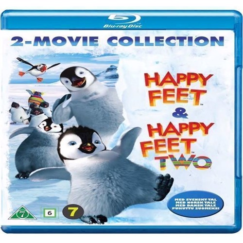 Image of Happy Feet Happy Feet Two Blu-ray (7340112739226)