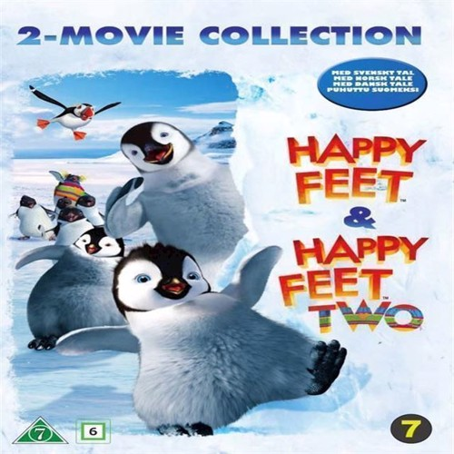 Image of Happy Feet Happy Feet Two DVD (7340112739249)