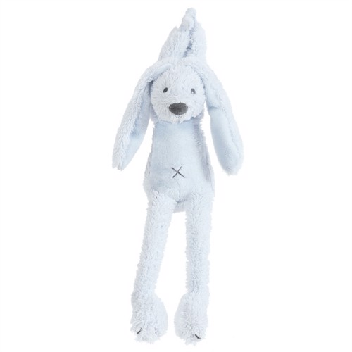 Image of Happyhorse bamse kaninen Richie med musik 34 cm blå