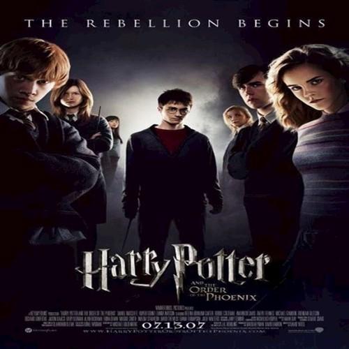 Image of Harry Potter 5 - Og Fønixordenen / And The Order Of The Phoenix - (4K Blu-Ray) (7340112735494)