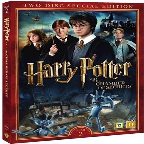 Image of Harry Potter & Hemmelighedernes Kammer / Harry Potter and the Chamber of Secrets DVD (5051895405451)