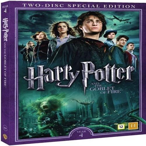 Image of Harry Potter Og Flammernes Pokal / Harry Potter and the Goblet of Fire DVD (5051895405499)