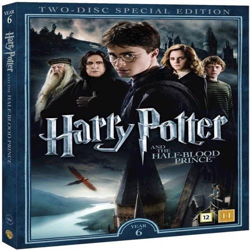 Image of Harry Potter Og Halvblodsprinsen / Harry Potter and the HalfBlood Prince DVD (5051895405536)