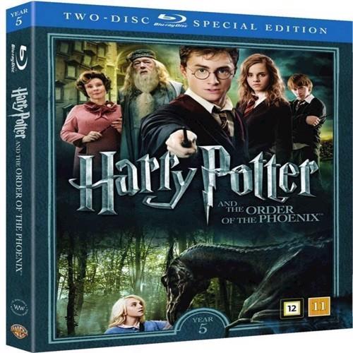 Image of Harry Potter Og Fønixordenen / Harry Potter and the Order of the Phoenix Blu-ray (5051895405529)