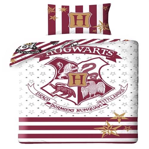 Image of Harry Potter Hogwarts Sengetøj 2I1 Design (5902729045056)