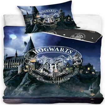 Image of Harry Potter Hogwarts Sengetøj 100 Procent Bomuld