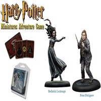 Harry Potter - Miniatures Adventure Game  Bellatrix and Wormtail HPMAG04