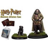 Harry Potter - Miniatures Adventure Game  Rubeus Hagrid and Fang HPMAG08