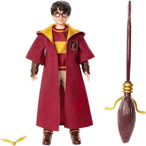 Image of Harry Potter - Quidditch Harry Potter Dukke (GDJ70) (0887961744842)