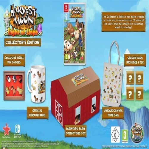 Image of   Harvest Moon Light of Hope Collectors Edition