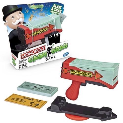 Image of Hasbro, Monopoly, Cash Grab, Brætspil, E3037189