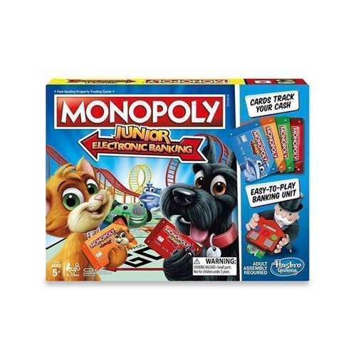 Hasbro  Monopoly Junior Electronic Banking DKNO