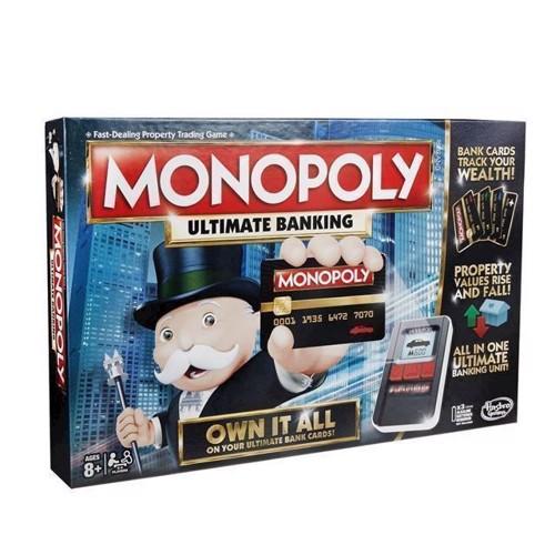 Image of Hasbro Monopoly Ultimate Banking Dk