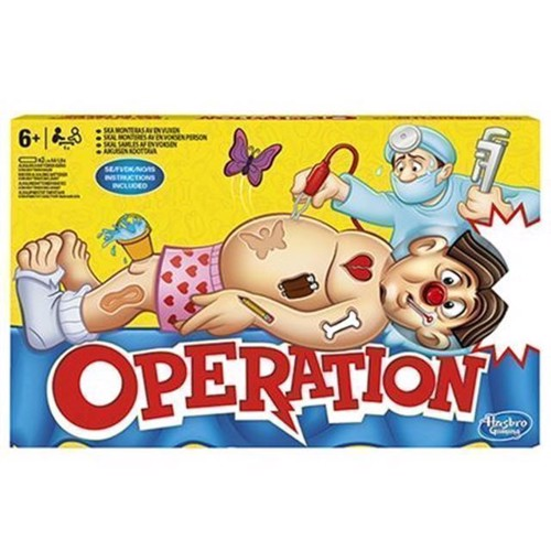Image of Hasbro Operation Classic