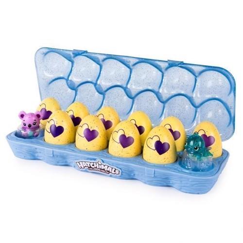 Image of   Hatchimals Colleggtibles, æggebakke med 12 Hatchimals æg