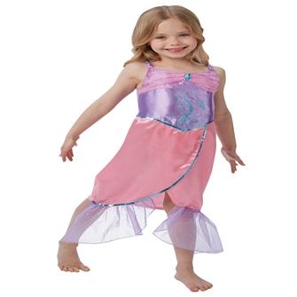 Image of Havfrue Udklædning til børn(Str. 128/L)