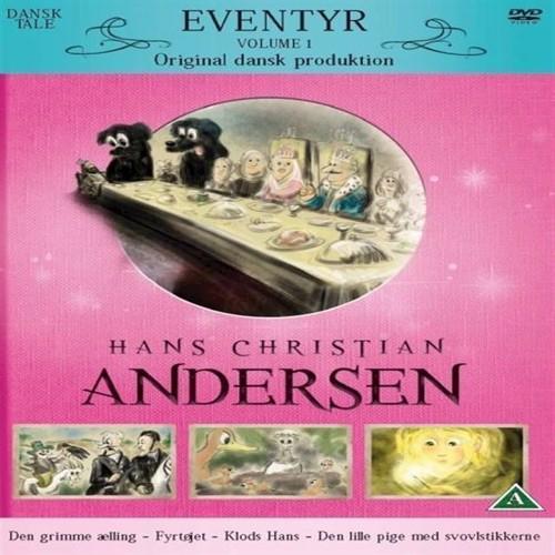 Image of HC Andersens Vol 1 DK Den Grimme Ælling, Fyrtjet, Klods Hans, Den Lille Pige Med Svovlstikkerne DVD (7350007159045)
