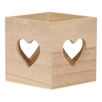 Image of Heart Tealight Holder (8719348004343)