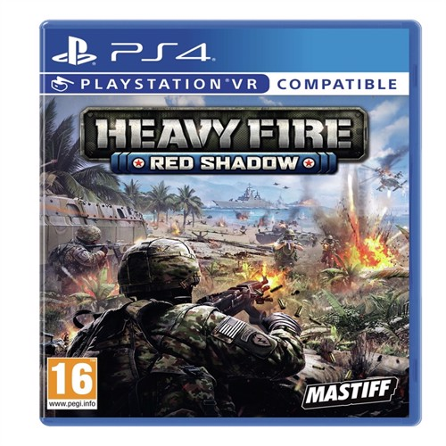 Image of Heavy Fire: Red Shadow-PS4 (0859292000386)