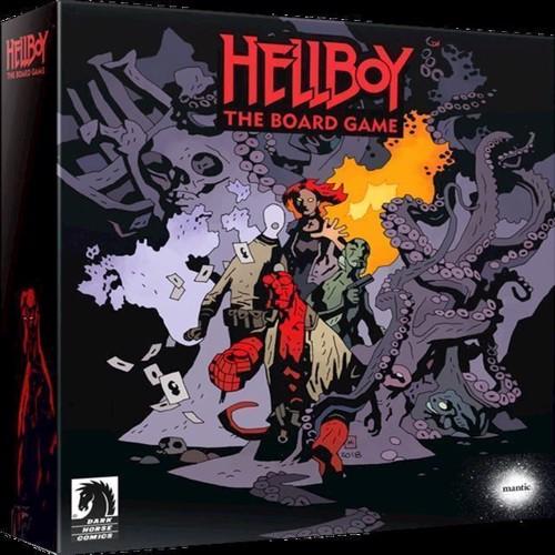 Hellboy brætspil engelsk