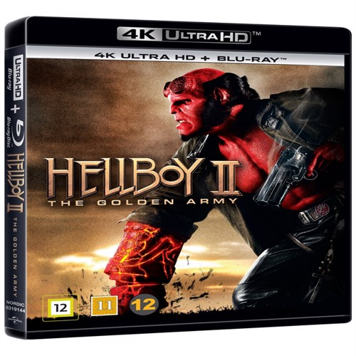 Image of Hellboy Ii, The Golden Army, 4K Blu-Ray (5053083191443)