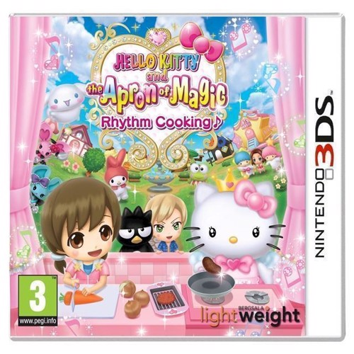 Image of Hello Kitty And The Apron Of Magic Rhythm Cooking - Nintendo 3Ds
